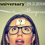 Information about 29.3. 2016 on Aliexpress