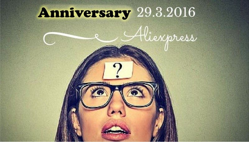 Alimaniac Aliexpress anniversary 6th