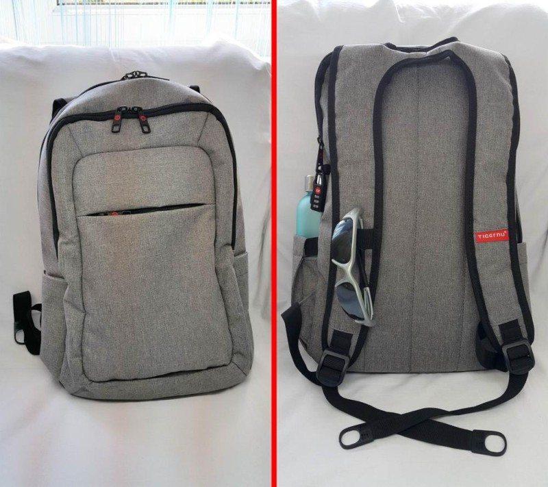 Tigernu backpack MacBook laptop Aliexpress grey 6