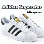 Adidas Superstar fashion sneakers from Aliexpress