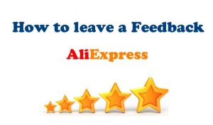 How to write leave feedback product Aliexpress ENG