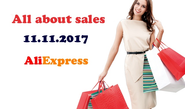 Aliexpress 11.11.2017 sales shopping ENG