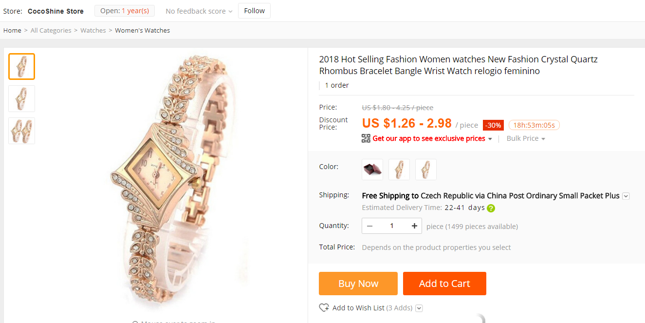 Aliexpress Wish shopping not to buy china 3