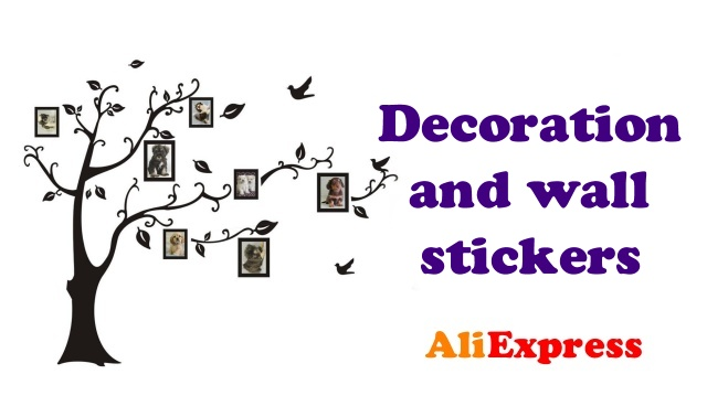 Decoration and wall stickers Aliexpress shopping ENG