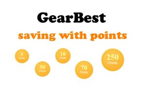 GearBest points how to use savings ENG