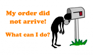 Order did not arrive china aliexpress shopping ENG