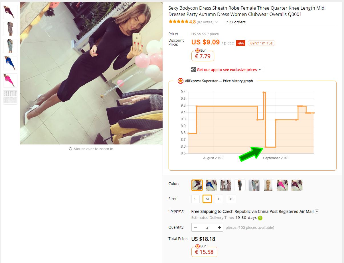Aliexpress Superstar price history shopping china 1