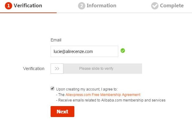 Tutorial 02 - How to register on AliExpress