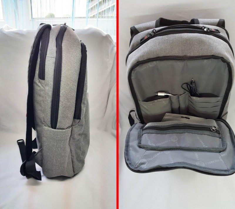 Tigernu backpack MacBook laptop Aliexpress grey 8