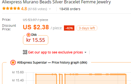 aliexpress price currency