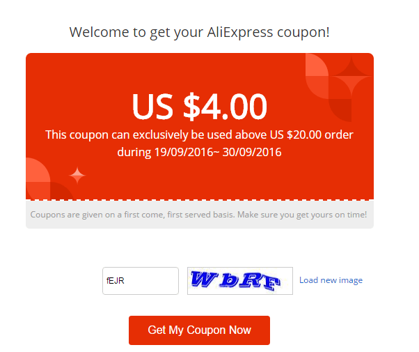 4 Off AliExpress Coupons, Coupon Codes - September 2020