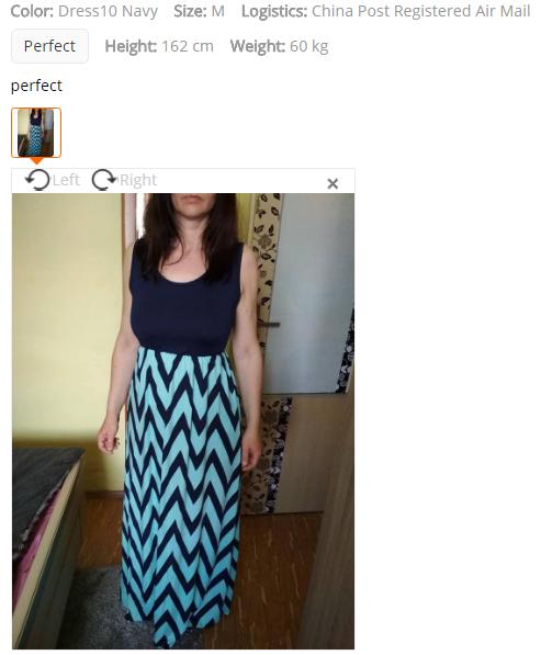 Jak vybrat velikost obleceni nebo bot Aliexpress 3