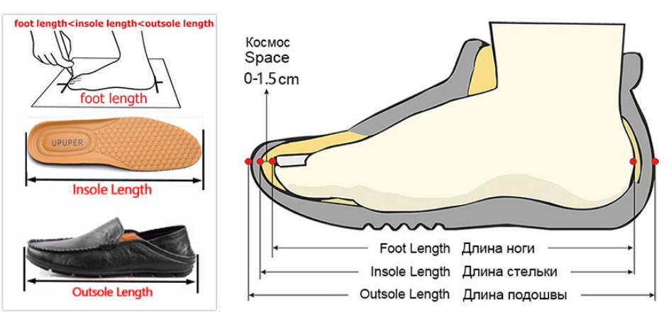 Jak vybrat velikost obleceni nebo bot Aliexpress 4