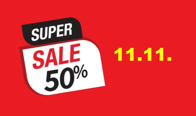 Sale Aliexpress shopping festival 1111 eng