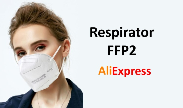 Respirator FFP2 Aliexpress mask review ENG